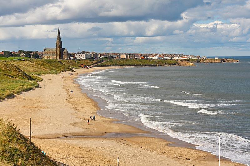 How Long Is South Shields Beach
